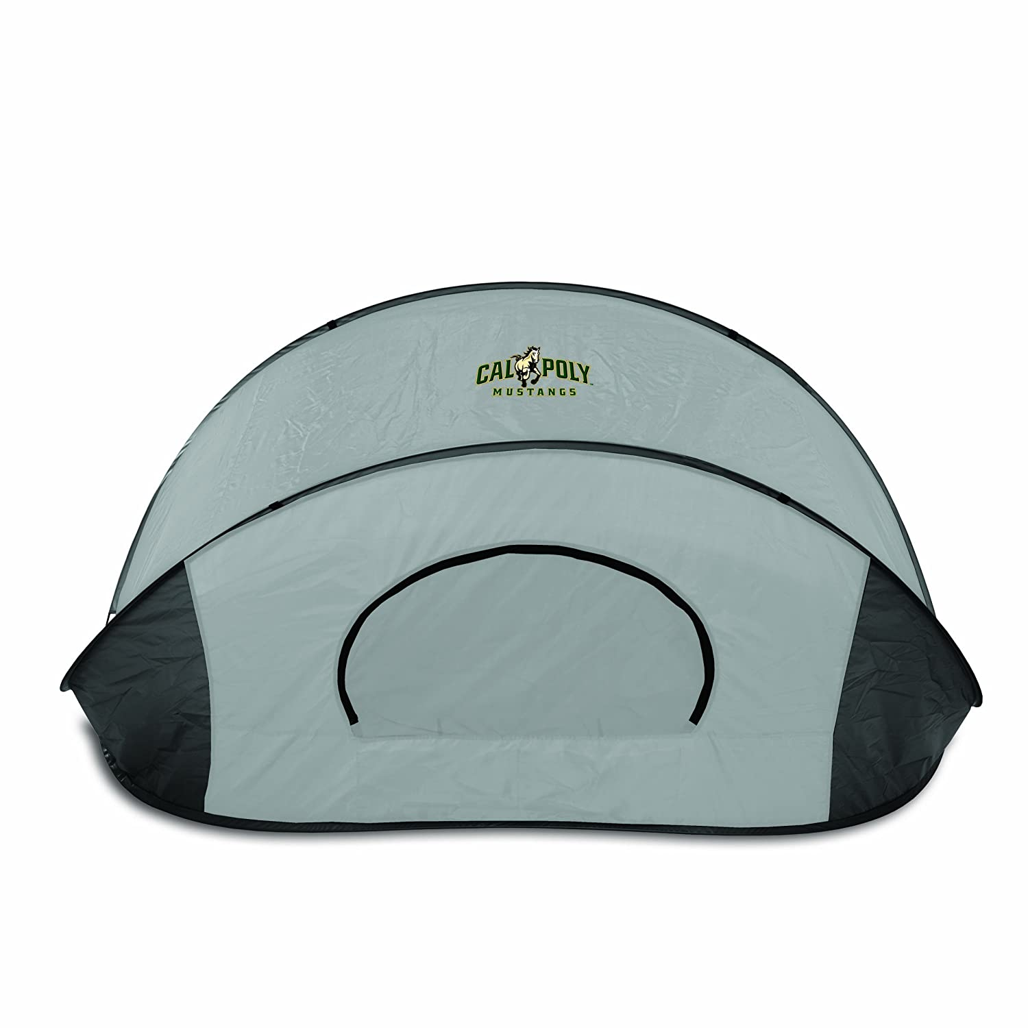Picnic Time NCAA Cal Poly Mustangs Manta Tragbare Pop-Up Sonne/Wind Shelter