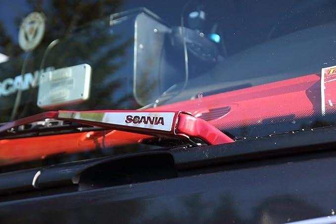 Embellecedor para limpiaparabrisas Scania de acero inoxidable ...