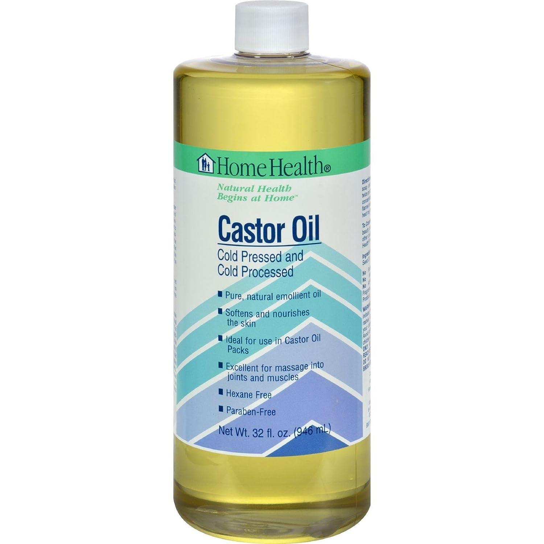 Health & Beauty Castor Oil 32 Fl Oz By Home Health