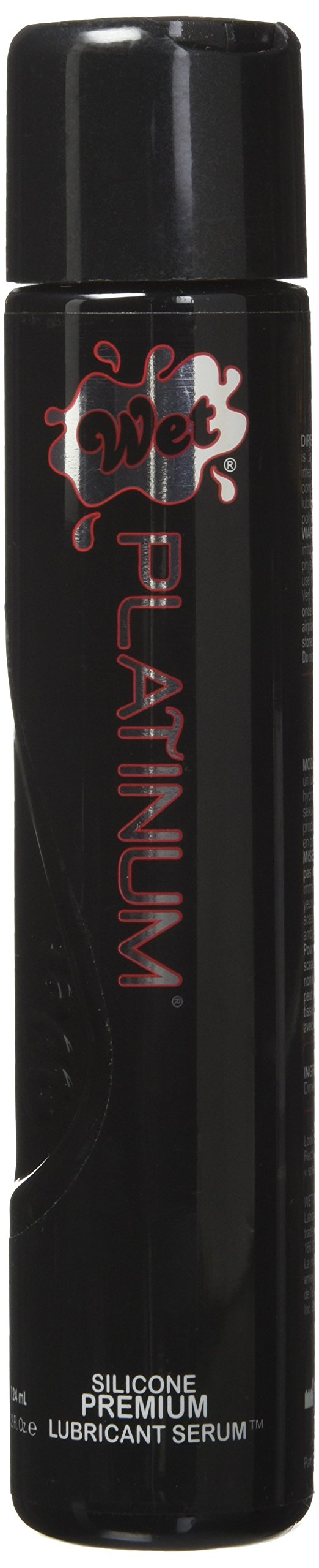 Wet Platinum Silicone Based Lubricant, 4.2 Ounce