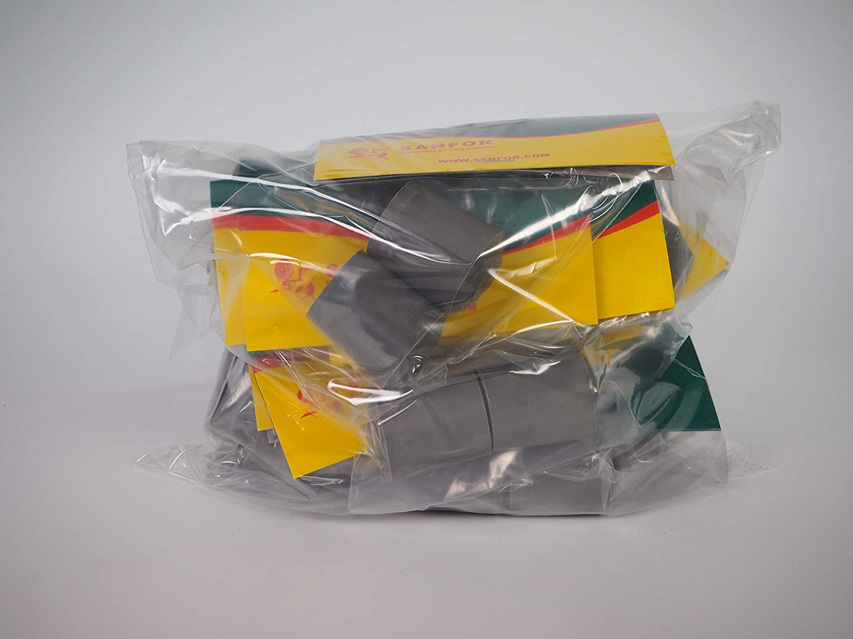Sanfor 70091 Paquete 10 Blíster 2 Contera andador gris C ...