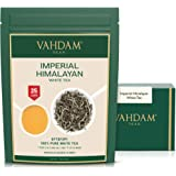 VAHDAM, Imperial White Tea Leaves from Himalayas (25 Cups) - World's Healthiest Tea Type - POWERFUL ANTI-OXIDANTS, High…