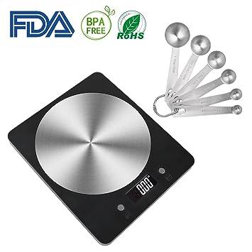 Amazon.com: Makerfun - Báscula digital de cocina, báscula de ...