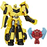 Transformers Robots in Disguise Power Surge Bumblebee and Buzz Strike Toy - Yellow