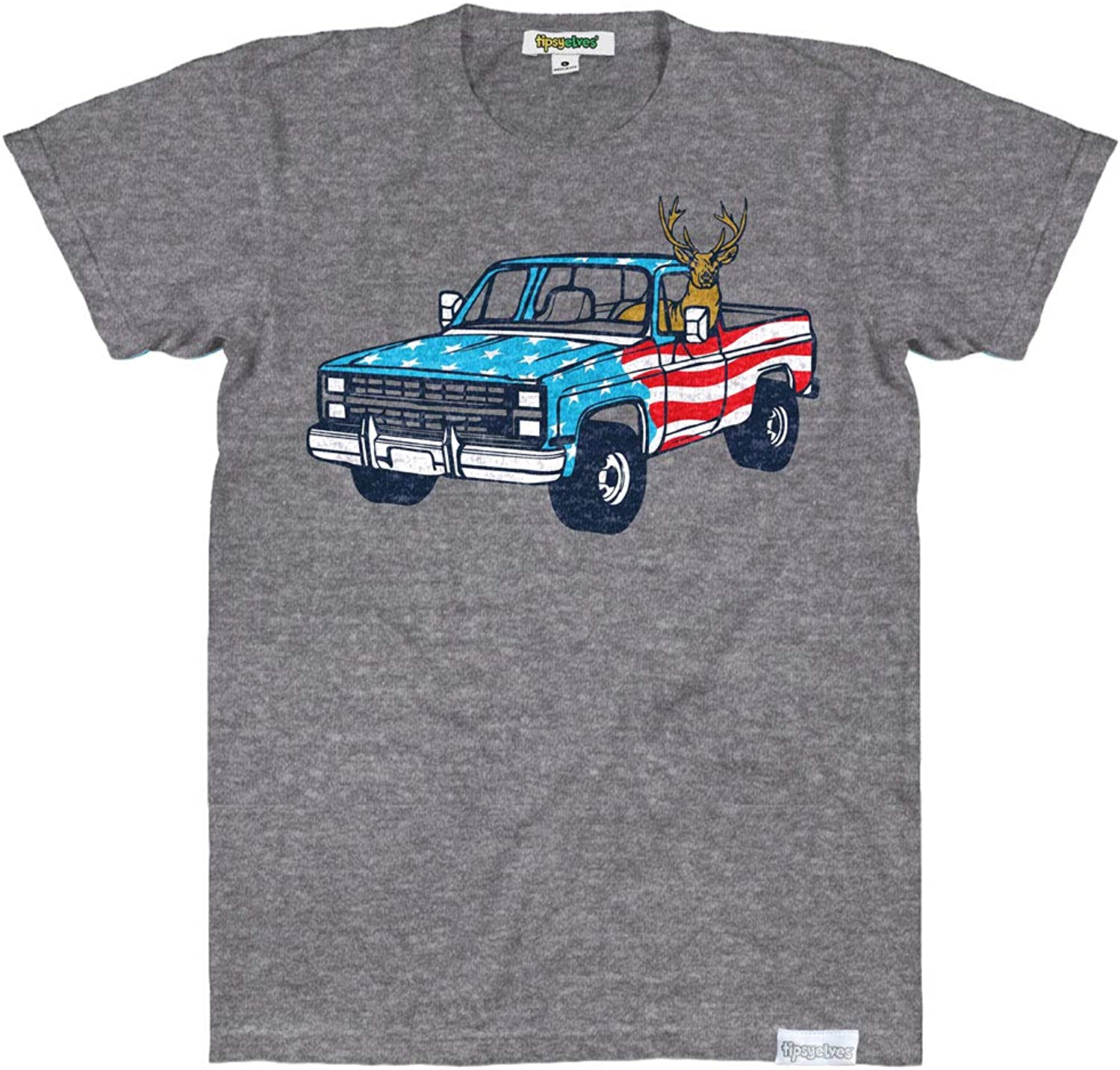 Hilarious Red White & Blue Americana Shirts for Men - USA T Shirt Tops