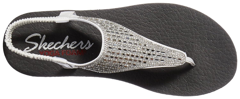 Skechers Meditation Rock Crown, Sandales Bride Cheville Femme, (Rose Gold Rsgd), 39 EU