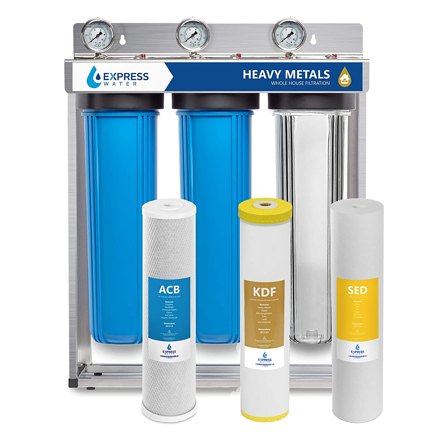 Express Water 3-Stage Water Filter System