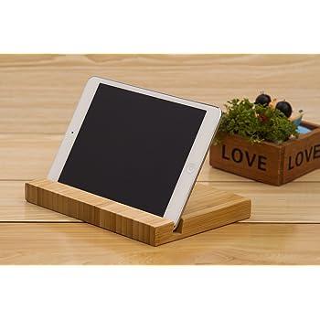 Amazon Com Samdi Wood Tablet Stand Wooden Ipad Holder