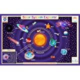 Tot Talk Solar System Educational Placemat for Kids