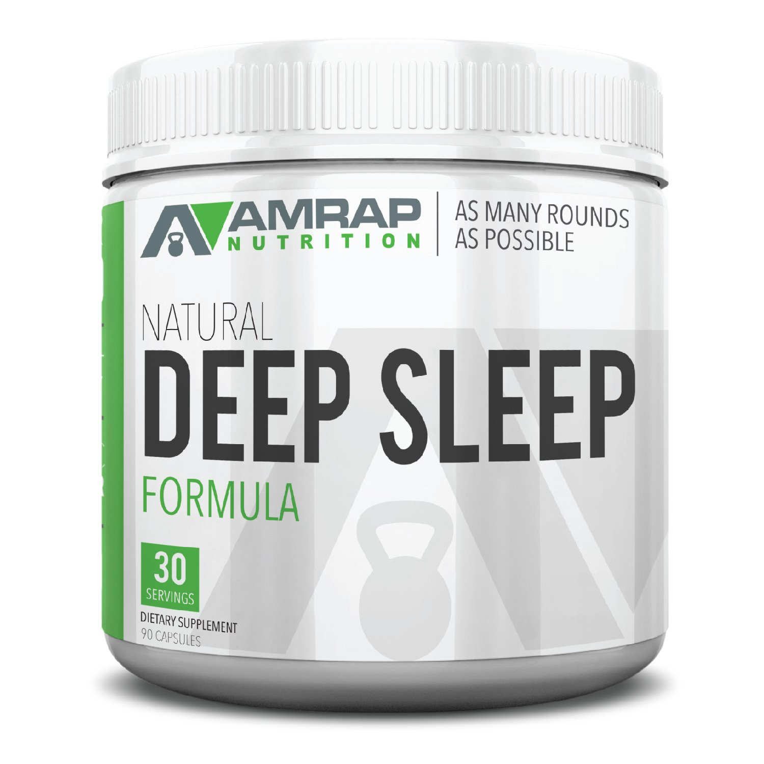 AMRAP Nutrition – Natural Deep Sleep Formula – Post-Workout Recovery Aid Promotes Deep Sleep and Proper Muscle Function – Supports Natural Anabolic Levels – with 72 Essential Trace Minerals