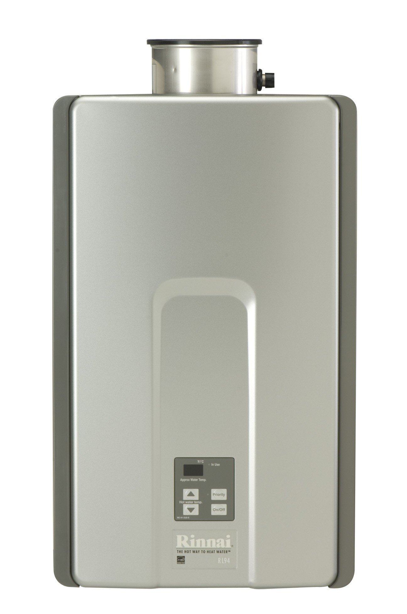 Rinnai RL94iP Propane Tankless Water Heater, 9.4 Gallons Per Minute
