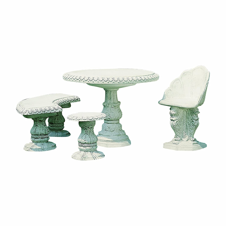 Fantasieco Stoneland Tisch Empoli - Patina Nera