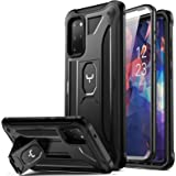 YOUMAKER Designed for Samsung Galaxy S20 Plus Case with Built-in Screen Protector Full Body Heavy Duty Shockproof Kickstand C
