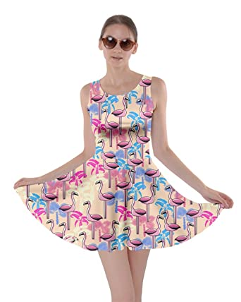ca71976edadb CowCow Womens Flamingo Birds Feather Summer Hot Tropical Poolside ...