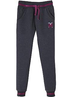c98482d76a8db Vertbaudet Pantalon Fille en Molleton Collection Maternelle Marine 2 ...