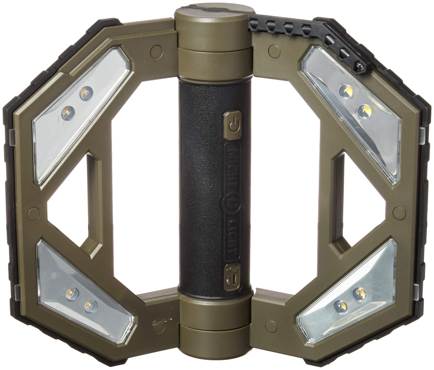 Might-D-Light LED140 LED Rechargeable Worklight, Gray