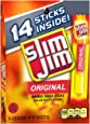 Slim Jim Original Snack Sticks, 0.28 Ounce, 14 Count