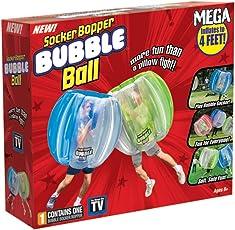 SOCKER Boppers cuerpo burbuja bola (Los colores pueden variar)