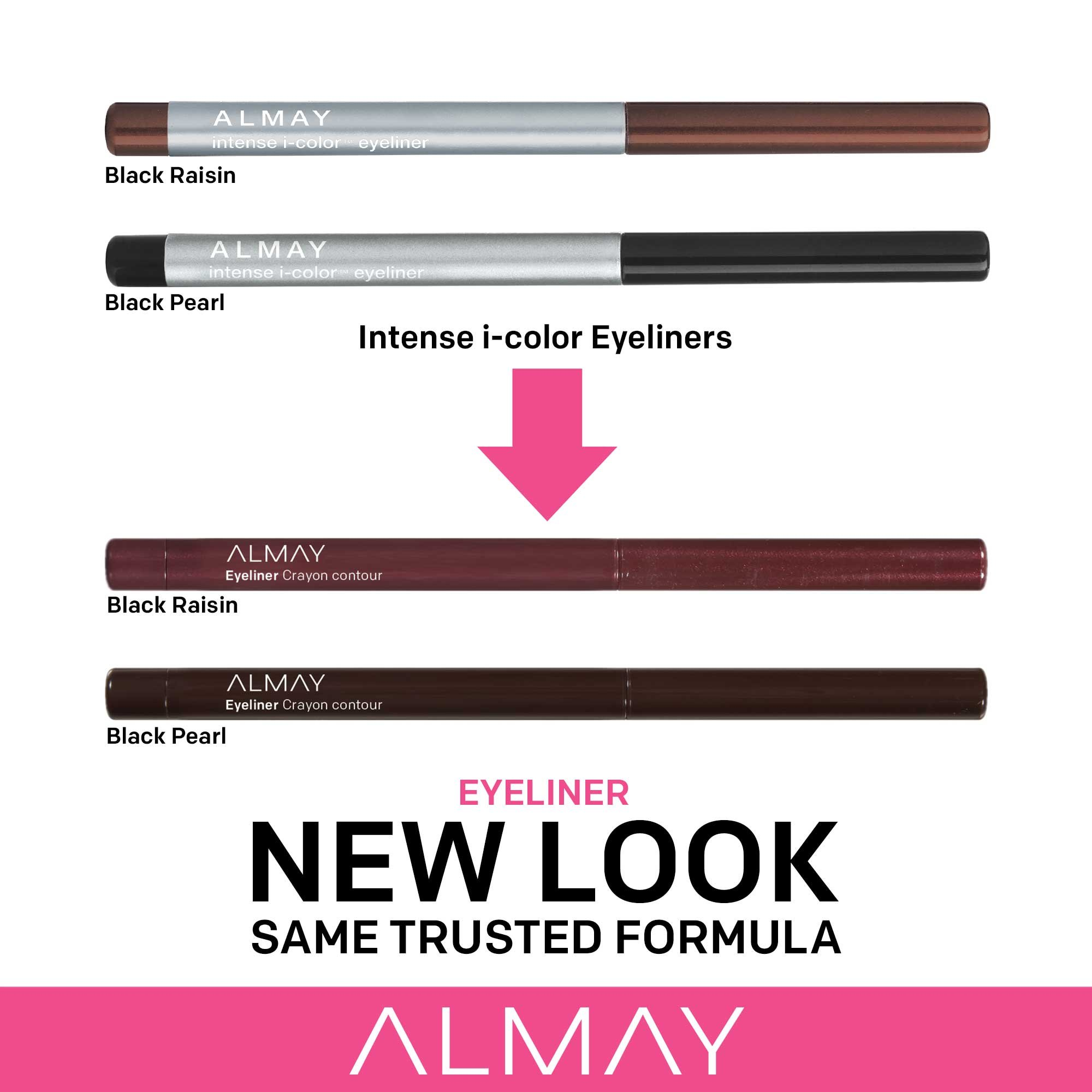 Almay Intense i-Color Liner, Black Amethyst [001], 0.009 (Pack of 2)