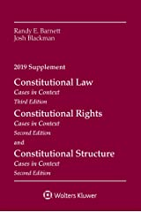 Constitutional Law: Cases in Context, 2019 Supplement (Supplements) Kindle Edition
