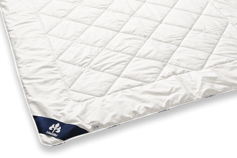 Badenia 03 633 050 154 Bettcomfort Steppbett Irisette Merino wash leicht, 200 x 200 cm, weiß