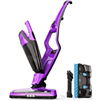 Homever Cordless 3-in-1 Upright Stick Cordless Bagless Vacuum Cleaner (Purple)