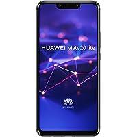 HUAWEI Mate 20 lite Dual-SIM Black Android 8.1 Smartphone mit Dual-Kamera