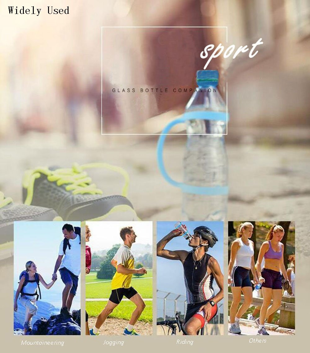 Amazon.com : Windspeed Water Bottle Carrier Grip for Outdoor, Soft band Holder Strap Makes Any Bottle Handheld, Water Bottle Bands For Bike, Gym or Jogging ...