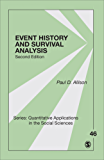 Event History and Survival Analysis: Regression for Longitudinal Event Data (Quantitative Applications in the Social Sciences)