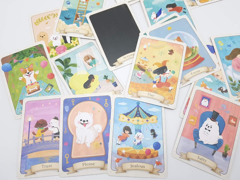 mumu Dog pet Oracle Tarot Card