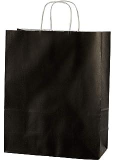 20 bolsas de papel kraft con asas trenzadas e ideales para ...