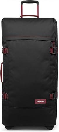 Eastpak Tranverz L Valise 79 cm Noir Blakout Stripe Red 121 L