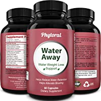 Premium Water Pills Diuretic Natural & Pure Dietary Supplement for Water Retention...
