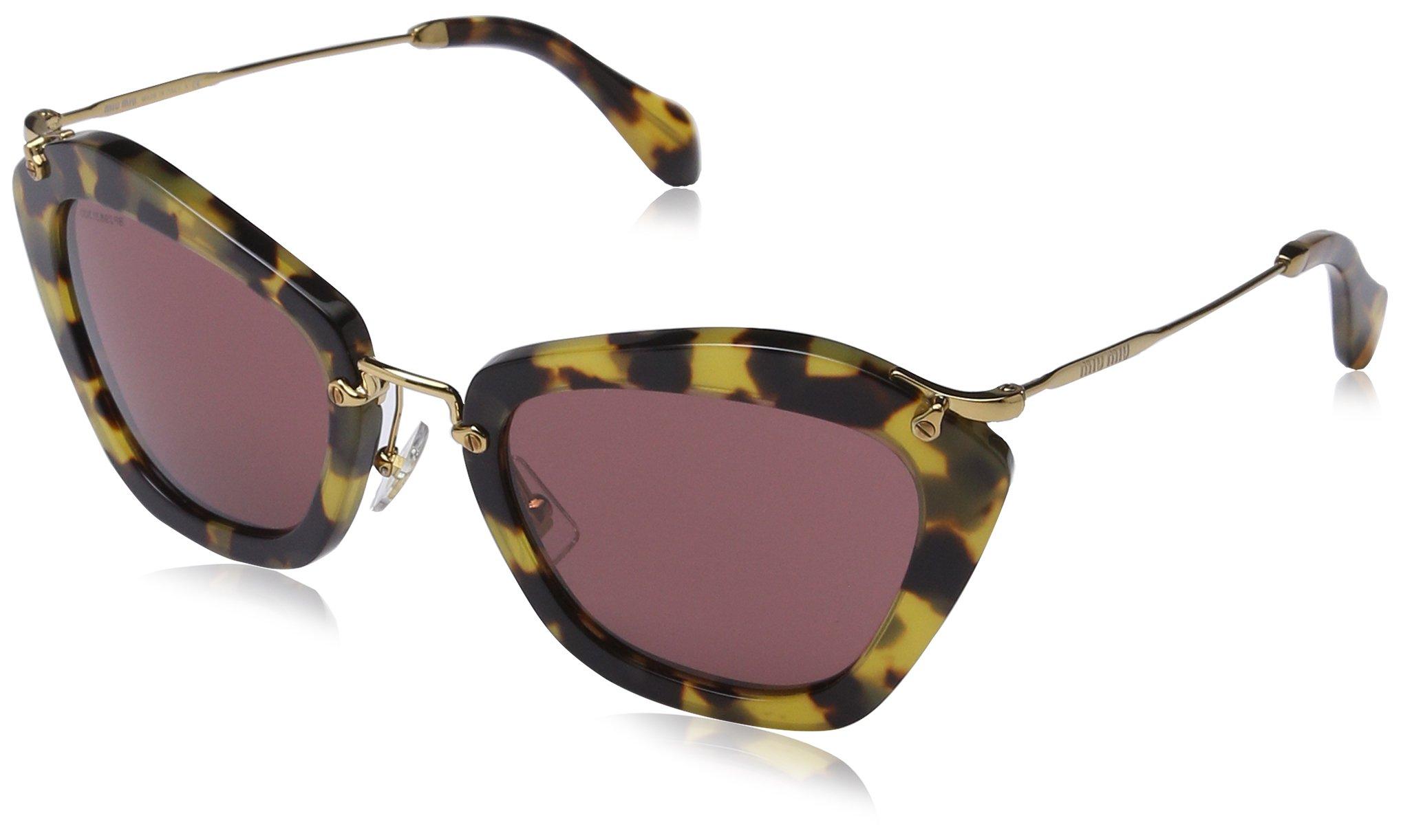 7866f98fb904 Miu Miu MU10NS 7S00A0 Noir Sunglasses