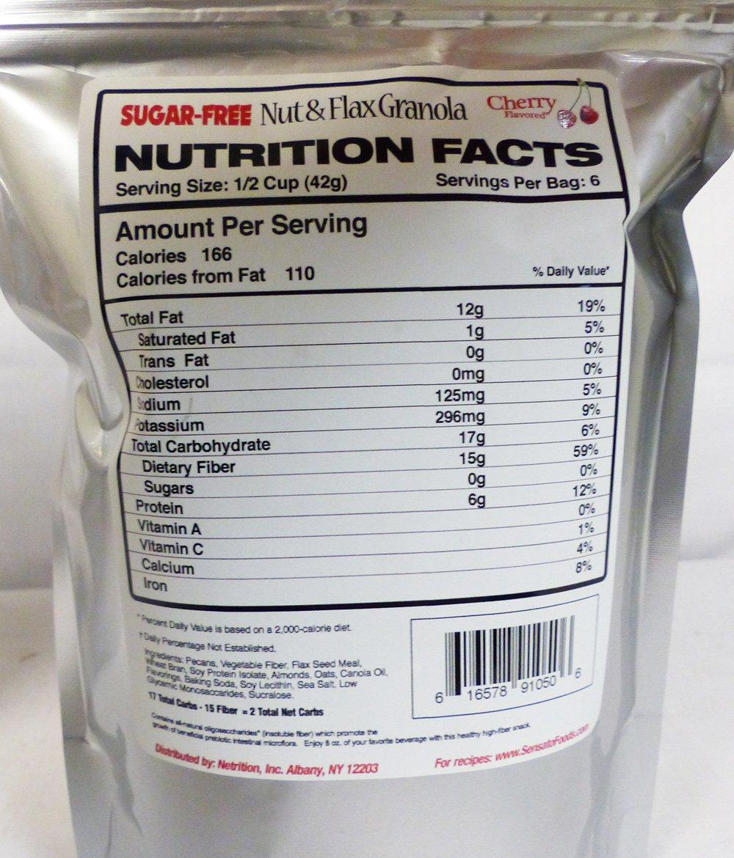 Sensato Foods Granola de nuez de cereza 9 onzas: Amazon.es: Alimentación y bebidas