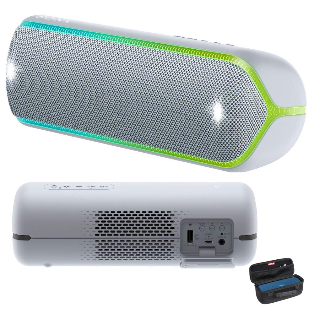 Sony SRSXB32/H Extra Bass Portable Bluetooth Speaker (Graphite) with Travel Hard Case Bundle
