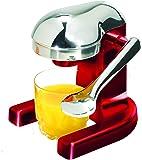 Metrokane Rabbit Citrus Juicer, Metallic Red