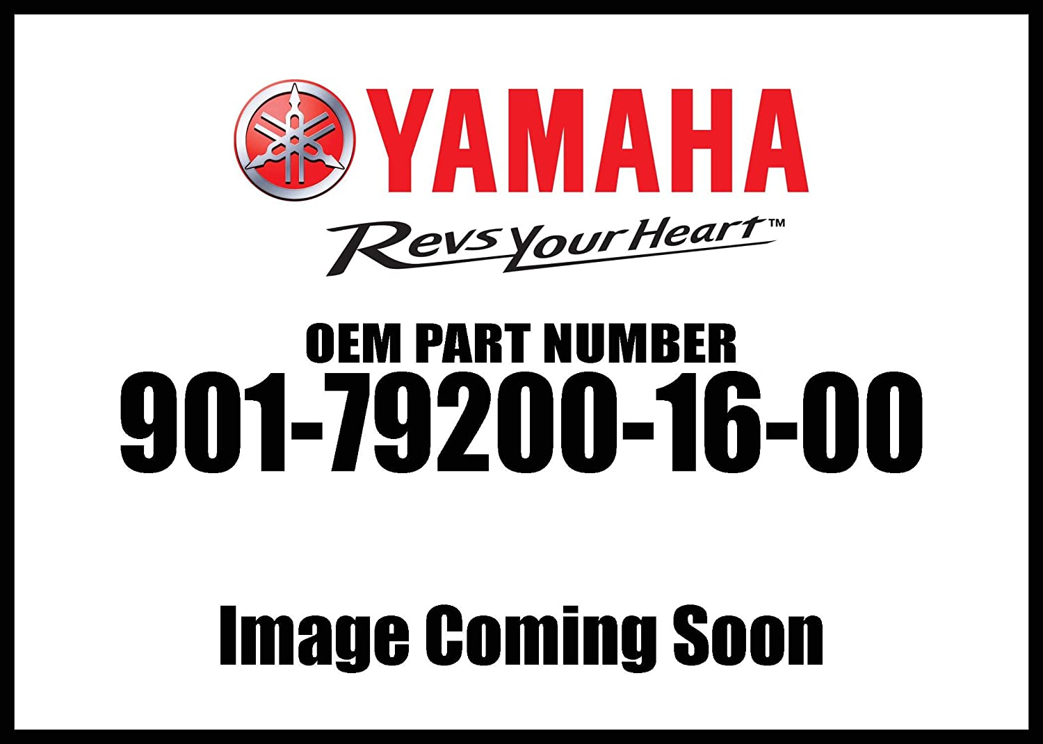 Yamaha 90179-20016-00 Nut; 901792001600 Made by Yamaha