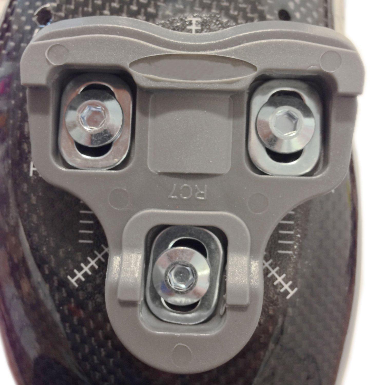 VeloChampion Look Keo Grip Pedal Cleats 9 Degree Float Grey by VeloChampion (Image #3)