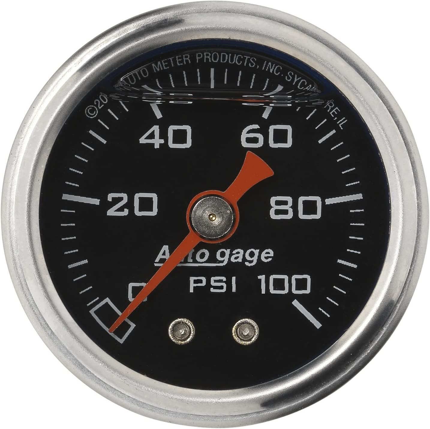 Auto Meter 2172 Autogage Fuel Pressure Gauge