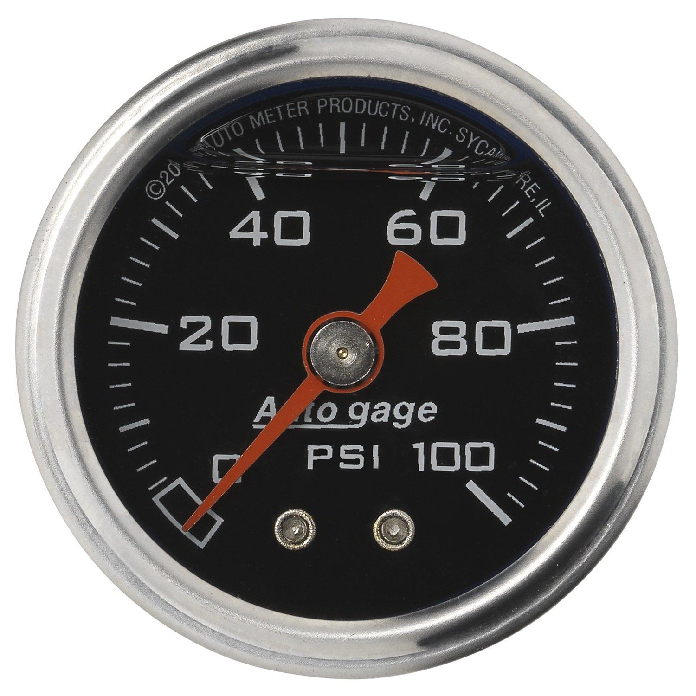 Auto Meter 2174 Autogage Fuel Pressure Gauge by Auto Meter