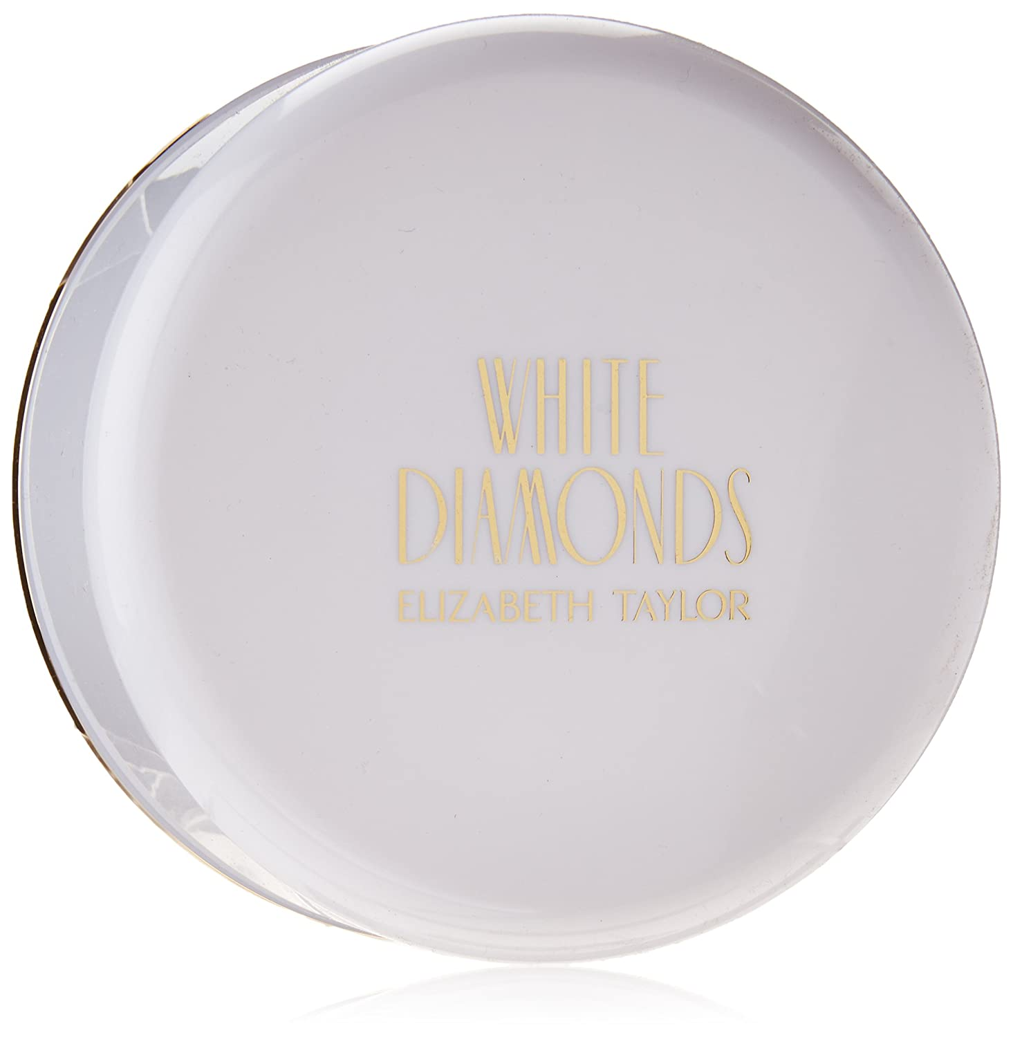 WHITE DIAMONDS von Elizabeth Taylor für Damen. PERFUMED BODY POWDER WITH PUFF 2.6 oz / 75 g 123381