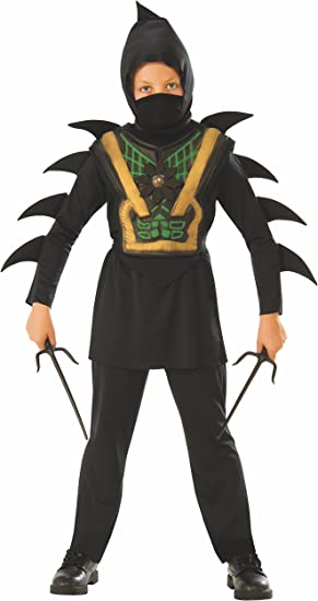 Rubies - Disfraz de ninja mortal para niño, infantil 7-8 años ...