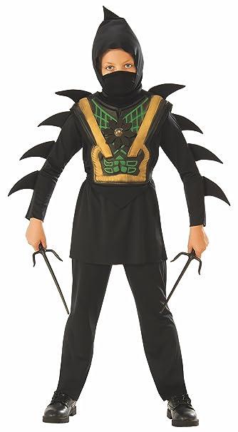 Amazon.com: Rubie s deadly Ninja disfraz infantil de ...