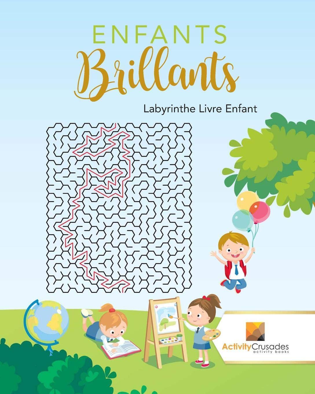 Enfants Brillants Labyrinthe Livre Enfant French Edition