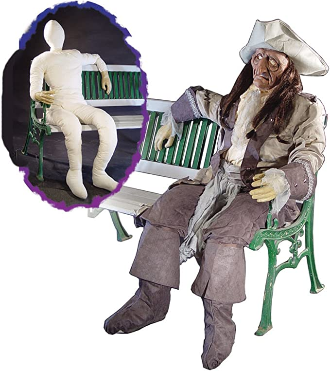 Life-Size Dummy // Doll with Wire Frame in Neck and Arms for Posing Horror Realistic Arms Stuffed Events Human Form. Ideal for Party Decoration Halloween