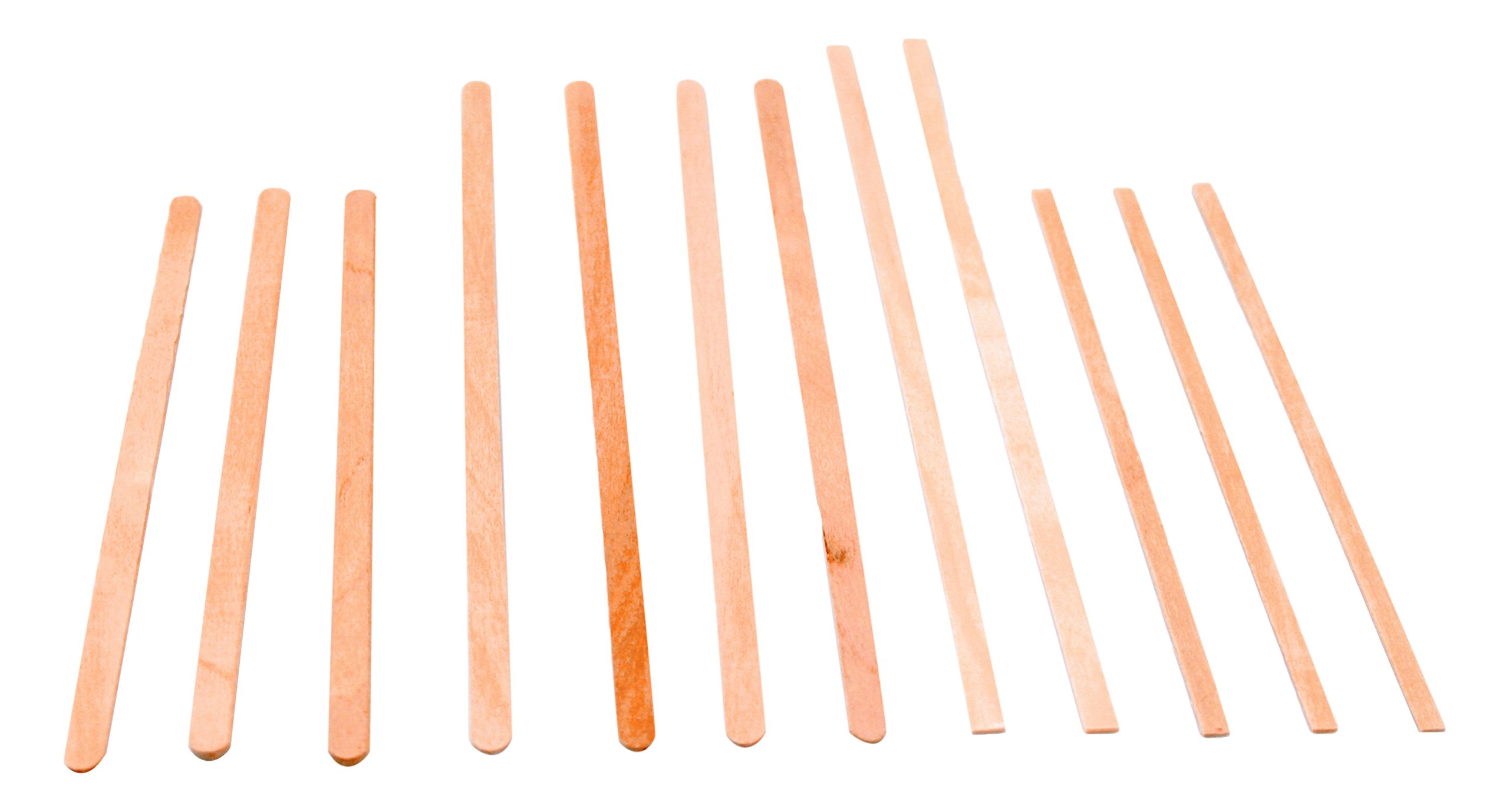 Rofson WCS75 Coffee Stirrer Wood Square End Bulk, 7.5'' - 5000/Cs (5 x 1000), Not Applicable