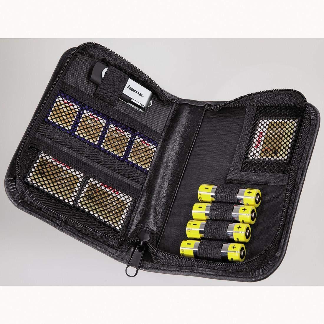 Hama Custodia per Memory card universale, nero 4007249471536 CF MMC MemoryStick(TM) PCcards SD SM XD compactflash memorycard
