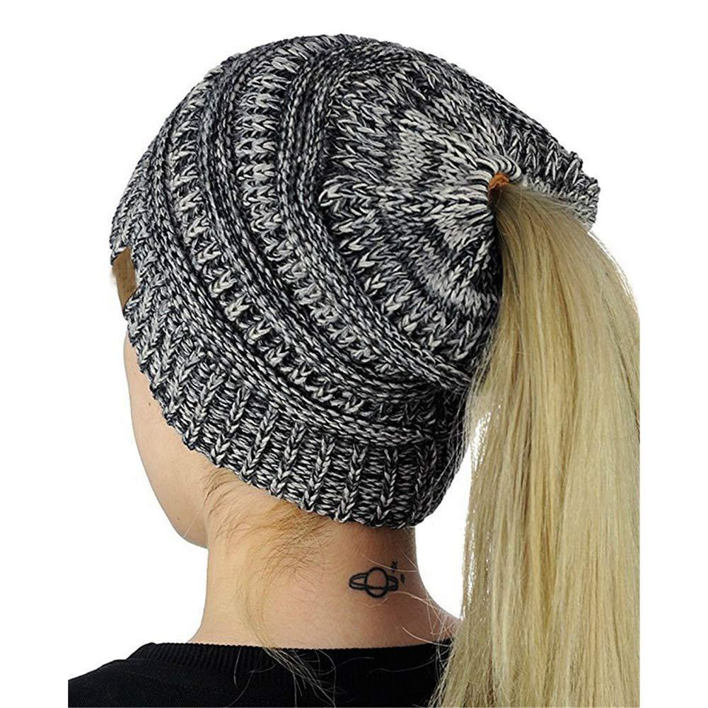 Knitting Skull Beanie Hat Casual Streetwear Warm Women Winter Cute Fashion Casual Hat