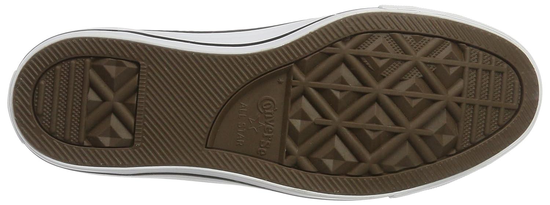 Converse Unisex-Erwachsene Chambray Sneaker (Ash Mehrfarbig (Ash Sneaker Grau/Weiß/schwarz) 4e493f